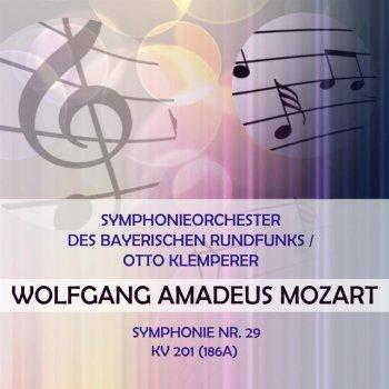 Testi Symphonieorchester des Bayerischen Rundfunks / Otto Klemperer play: Wolfgang Amadeus Mozart: Symphonie Nr. 29, KV 201 (186a)