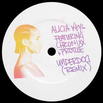 Underdog (Remix) [feat. Chronixx & Protoje] - Single                                                     by Alicia Keys – cover art