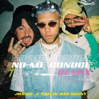 No Me Conoce - Remix lyrics – album cover