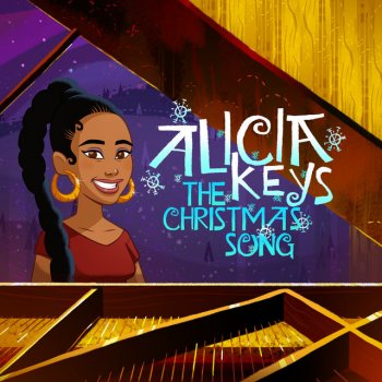 The Christmas Song by Alicia Keys - cover art