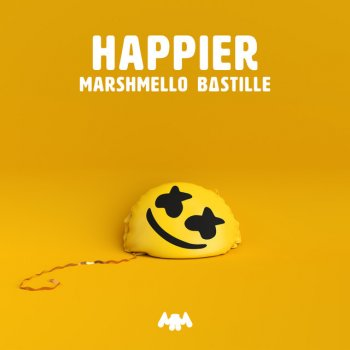 Happier by Marshmello feat. Bastille - cover art
