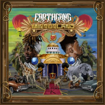 UP by EARTHGANG - cover art