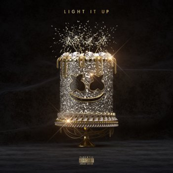 Light It Up (with Tyga & Chris Brown) by Marshmello feat. Tyga & Chris Brown - cover art