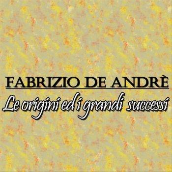 Testi Fabrizio De Andrè: le origini ed i grandi successi