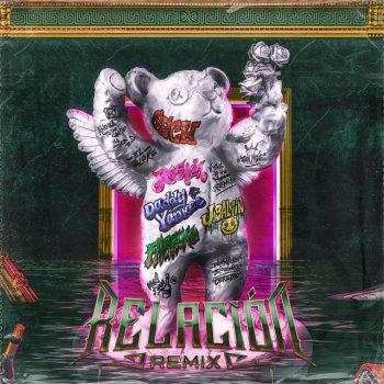 Relación - Remix lyrics – album cover