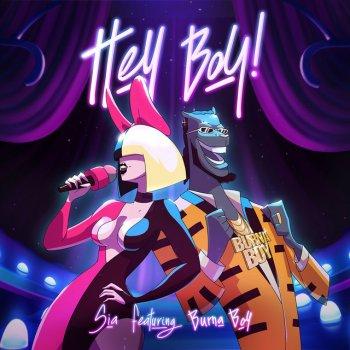 Testi Hey Boy (feat. Burna Boy)