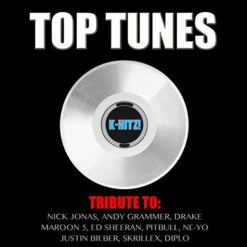 Testi Top Tunes (Tribute Nick Jonas, Andy Grammer, Drake, Maroon 5, Ed Sheeran, Pitbull, Ne-Yo, Justin Bieber, Skrillex, Diplo)