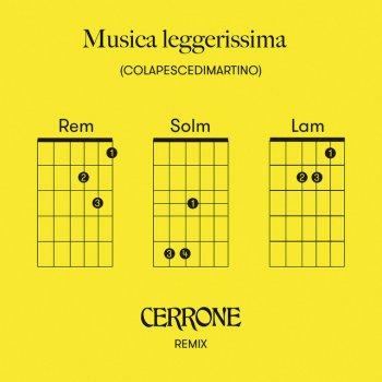 Testi Musica leggerissima (Cerrone Remix) - Single