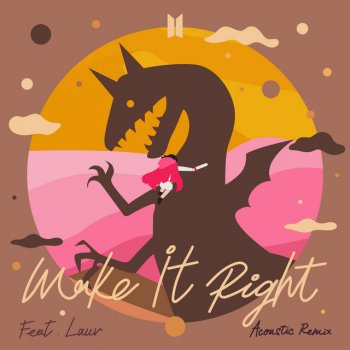 Testi Make It Right (feat. Lauv) [Acoustic Remix] - Single