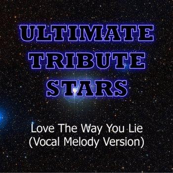 Testi Eminem & Rihanna - Love The Way You Lie (Vocal Melody Version)