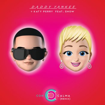 Con Calma - Remix by Daddy Yankee feat. Katy Perry & Snow - cover art