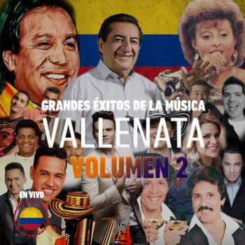 Grandes Éxitos de la Música Vallenata, en Vivo, Vol. 2 - cover art