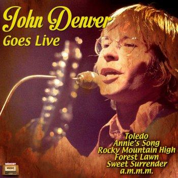 Testi John Denver Goes Live