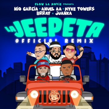 La Jeepeta - Remix lyrics – album cover