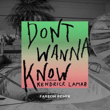 Testi Don't Wanna Know (Fareoh Remix)