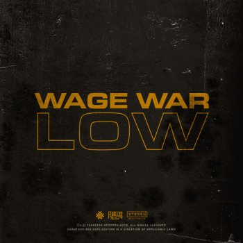 Low by Wage War - cover art