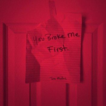 you broke me first lyrics – album cover