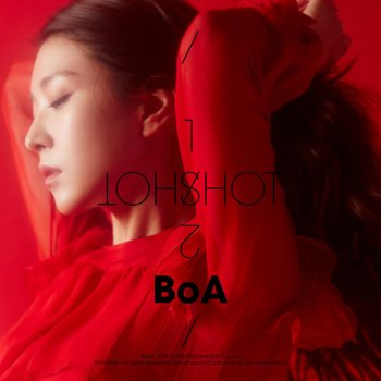 ONE SHOT, TWO SHOT by BoA - cover art