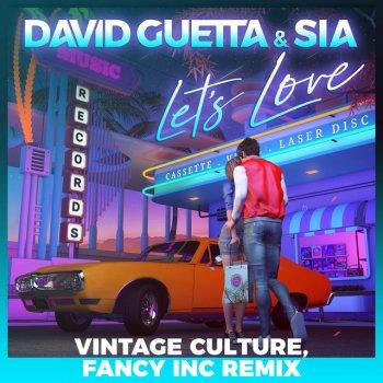 Testi Let's Love (feat. Sia) [Vintage Culture, Fancy Inc Remix] - Single