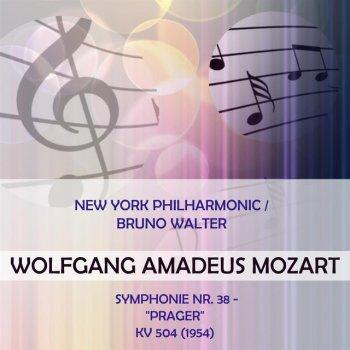 "Testi New York Philharmonic / Bruno Walter play: Wolfgang Amadeus Mozart: Symphonie Nr. 38 - ""Prager"", KV 504 (1954)"