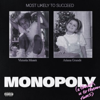 MONOPOLY (with Victoria Monét) by Ariana Grande feat. Victoria Monét - cover art