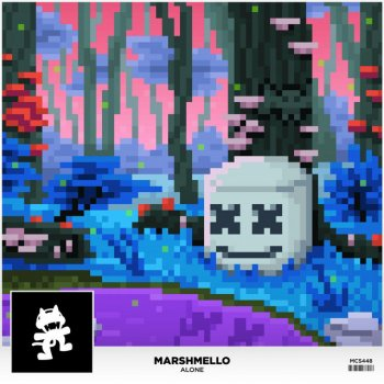 Alone by Marshmello - cover art
