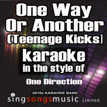 Testi One Way or Another (Teenage Kicks) [In the Style of One Direction] [Karaoke Version] - Single