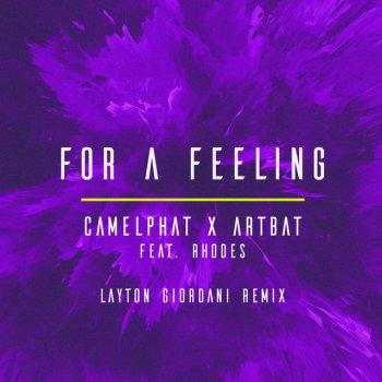 Testi For a Feeling (Layton Giordani Remix) [feat. RHODES] - Single