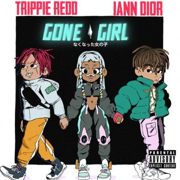 gone girl by iann dior feat. Trippie Redd - cover art