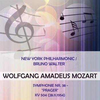 "Testi New York Philharmonic / Bruno Walter play: Wolfgang Amadeus Mozart: Symphonie Nr. 38 - ""Prager"", KV 504 (28.11.1954)"
