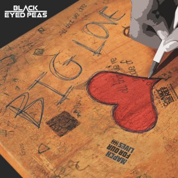 BIG LOVE                                                     by black eyed peas – cover art