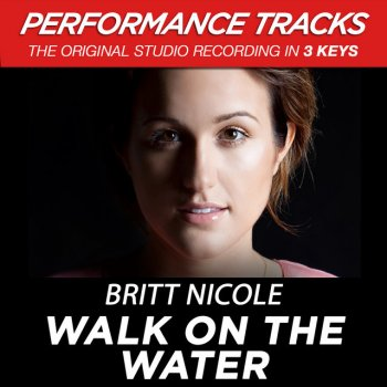 Walk On The Water - Medium Key Performance Track Without Background Vocals by Britt Nicole - cover art
