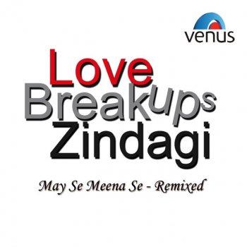 May Se Meena Se- Remixed lyrics – album cover