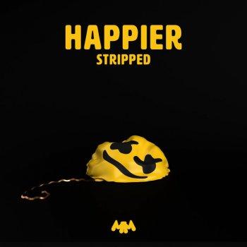 Happier - Stripped lyrics – album cover