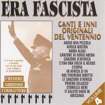 Testi Era fascista, Vol. 4 (Canti ed inni originali del ventennio)