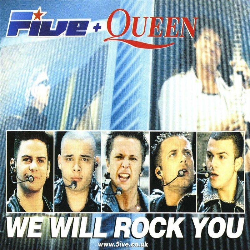 Five feat  Queen - We Will Rock You Lyrics | Musixmatch