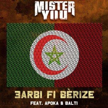 3Arbi Fi Bérize by Mister You feat. Balti & Apoka - cover art