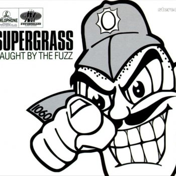 Caught by the Fuzz by Supergrass - cover art