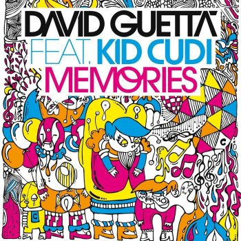 Memories by David Guetta feat. Kid Cudi - cover art