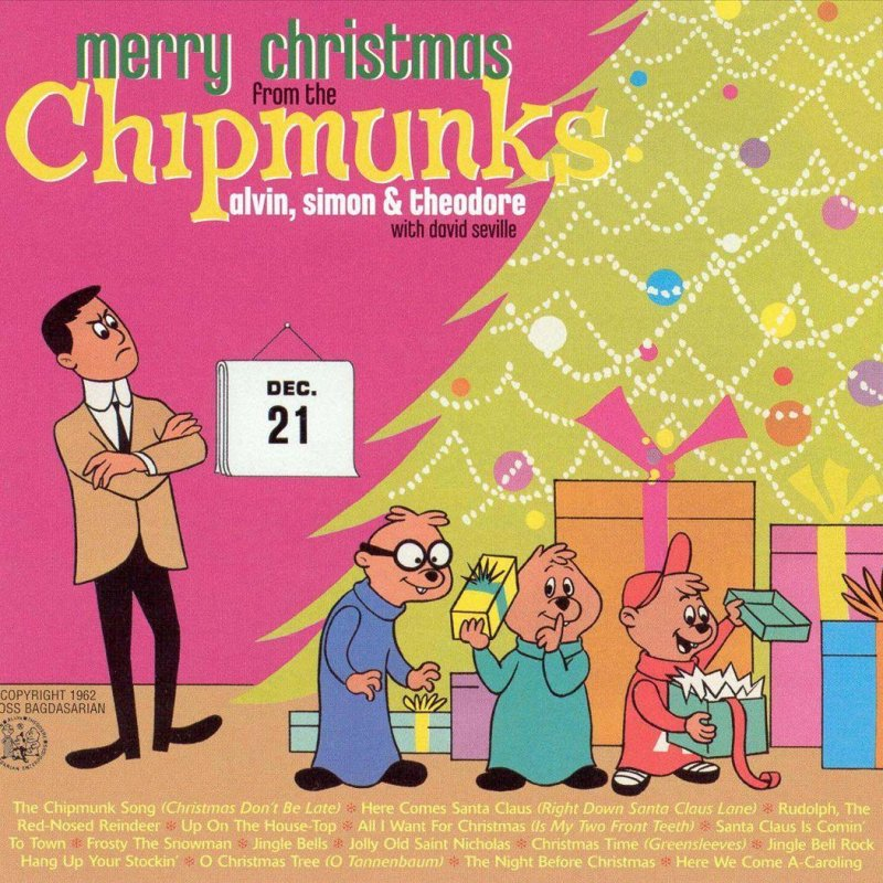 The Chipmunks - The Chipmunks Song (Christmas Don\'t Be Late) Lyrics ...